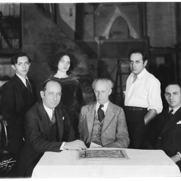 Joseph Achron with Members from The Golem