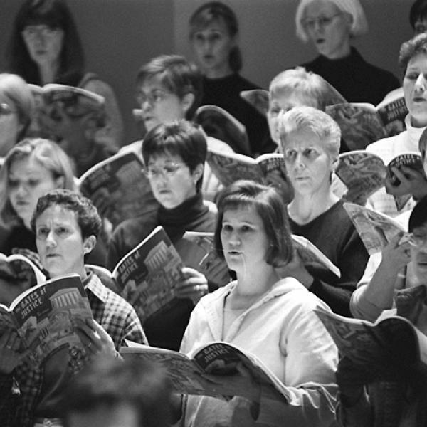 Members of the Baltimore Choral Arts Society
