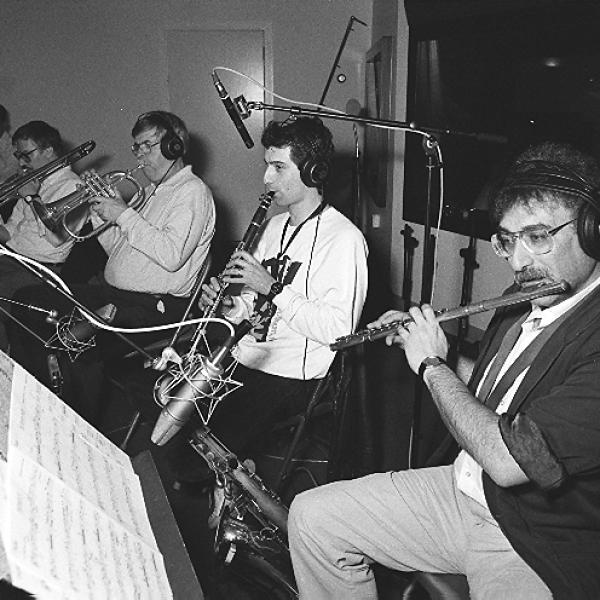 Members of the Jonathan Klein Jazz Ensemble