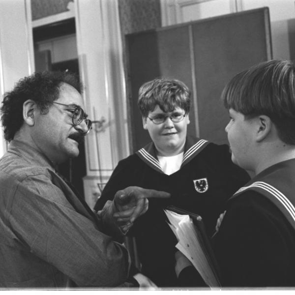 Neil Levin and Members of the Vienna Boys Choir